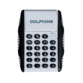 College of Staton Island White Flip Cover Calculator-Dolphins