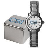 College of Staton Island Mens Stainless Steel Fashion Watch-CSI