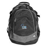 High Sierra Black Fat Boy Day Pack-Official Logo