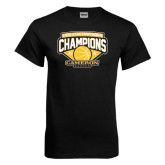 Black T Shirt-Lone Star Conference Basketball Champs