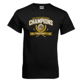 Black T Shirt-2016 Lone Star Conference Champions Mens Golf