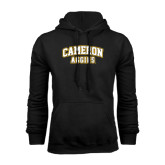 Black Fleece Hoodie-Cameron Arched Aggies