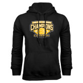 Black Fleece Hoodie-Lone Star Conference Basketball Champs