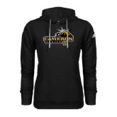Adidas Climawarm Black Team Issue Hoodie-Cameron Aggies Pick and Mountain