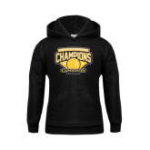 Youth Black Fleece Hoodie-Lone Star Conference Basketball Champs