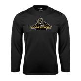Syntrel Performance Black Longsleeve Shirt-Cameron Aggies Miner