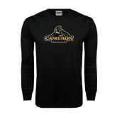 Black Long Sleeve TShirt-Cameron Aggies Miner