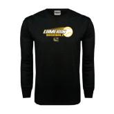 Black Long Sleeve TShirt-Cameron Baseball w/ Flying Ball