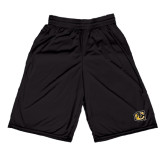 Russell Performance Black 9 Inch Short w/Pockets-Official Logo