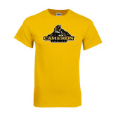 Gold T Shirt-Cameron Aggies Miner