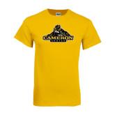 Gold T Shirt-Cameron Aggies Miner