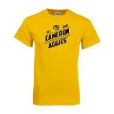 Gold T Shirt-Slanted Est. 1908
