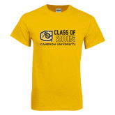 Gold T Shirt-Class Of Design 3 Lines