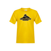 Youth Gold T Shirt-Cameron Aggies Miner