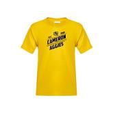 Youth Gold T Shirt-Slanted Est. 1908