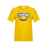 Youth Gold T Shirt-Lone Star Conference Basketball Champs