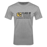 Grey T Shirt-Class Of Design 3 Lines