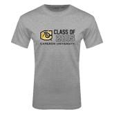 Grey T Shirt-Class Of Design 3 Lines