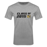 Grey T Shirt-Class Of Design 2 Lines