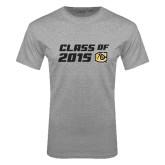 Grey T Shirt-Class Of Design 2 Lines