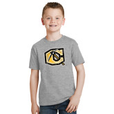 Youth Grey T-Shirt-Official Logo Distressed