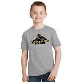 Youth Grey T-Shirt-Cameron Aggies Miner