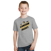 Youth Grey T-Shirt-Slanted Est. 1908