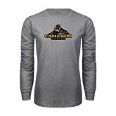 Grey Long Sleeve T Shirt-Cameron Aggies Miner