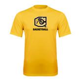 Syntrel Performance Gold Tee-Basketball