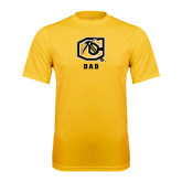Syntrel Performance Gold Tee-Dad