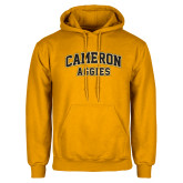 Gold Fleece Hoodie-Cameron Arched Aggies