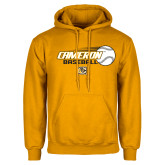 Gold Fleece Hoodie-Cameron Baseball w/ Flying Ball