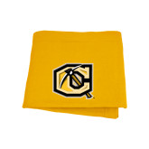 Gold Sweatshirt Blanket-Official Logo