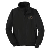 Black Charger Jacket-Cameron Aggies Pick and Mountain