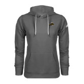 Adidas Climawarm Charcoal Team Issue Hoodie-Cameron Aggies Pick and Mountain