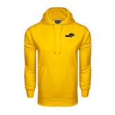 Under Armour Gold Performance Sweats Team Hoodie-Cameron Aggies Pick and Mountain
