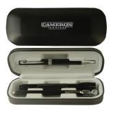 Black Roadster Gift Set-Cameron Aggies Flat Engraved