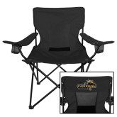 Deluxe Black Captains Chair-Cameron Aggies Pick and Mountain