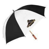 64 Inch Black/White Vented Umbrella-Cameron Aggies Miner
