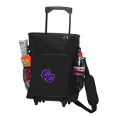30 Can Black Rolling Cooler Bag-CC