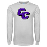 White Long Sleeve T Shirt-CC