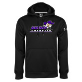 Under Armour Black Performance Sweats Team Hoodie-Curry Colonels