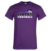 Purple T Shirt-Football