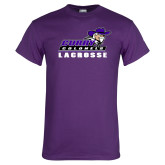 Purple T Shirt-Lacrosse