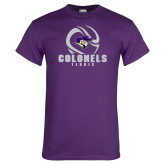Purple T Shirt-Tennis