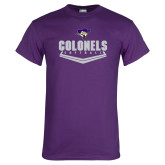 Purple T Shirt-Softball