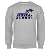 Grey Fleece Crew-Alumni