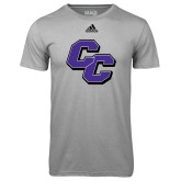 Adidas Climalite Sport Grey Ultimate Performance Tee-CC