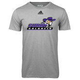 Adidas Climalite Sport Grey Ultimate Performance Tee-Curry Colonels