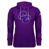 Adidas Climawarm Purple Team Issue Hoodie-CC